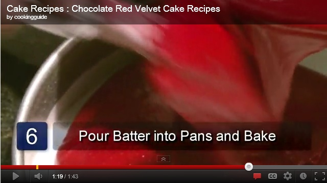 red velvet cake recipe Chocolate Red Velvet Cake Recipes from Scratch