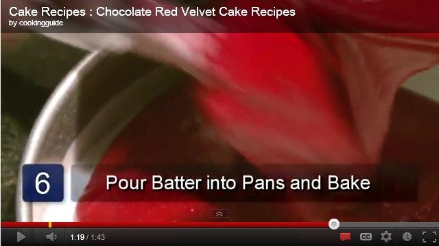 red velvet cake recipe Chocolate Red Velvet Cake Recipes from Scratch