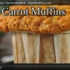 carrot cake recipe muffin